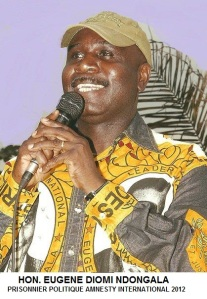 DIOMI NDONGALA PRISONNIER POLITIQUE 2012