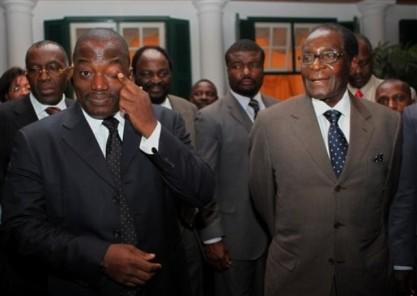 Robert Mugabe, Joseph Kabila