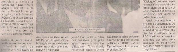 LA TEMPETE DES TROPIQUES N°4564 SUITE