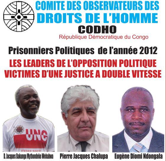 prisonniers politiques