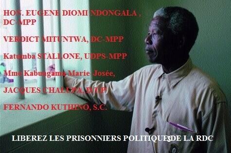 NELSON MANDELA PRISONNIER POLITIQUE.RDC