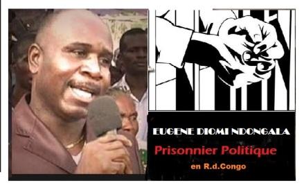 diomi prisonier politique rdc