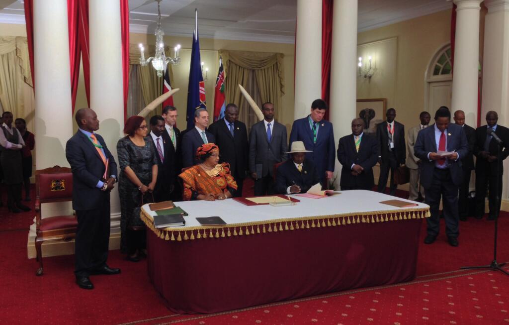 """TEXTE ORIGINAL DE L ACCORD DE KAMPALA SIGNE A NAIROBI POUR METTRE UN TERME A LA GUERRE """"CONGOLESE"""" ENTRE LE GOUVERNEMENT DE LA RDC ET LE M23 MAIS SANS SIGNATURE CONGOLESE....MAWA Bbt5z4dcyaayji7"""