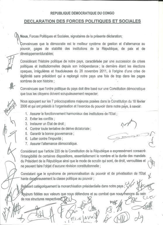declaration conjointe de l opposition du 250614 001