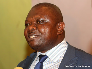 Lisanga Bonganga. Radio Okapi/ Ph. John Bompengo