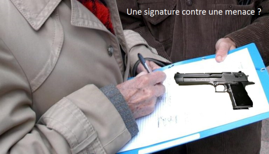 fausses petitions