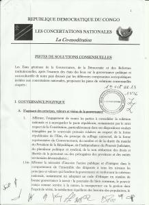 RAPPORT CONCERTATIONS NATIONALES 1 001