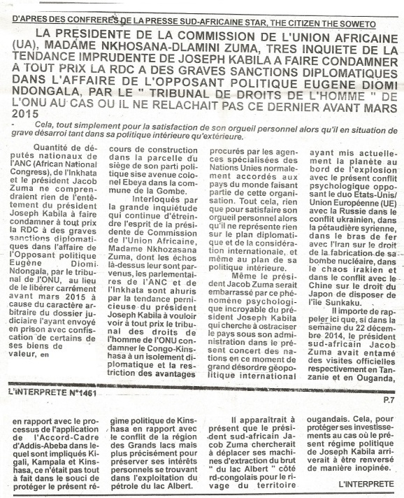 interprete du 08.01.15 diomi