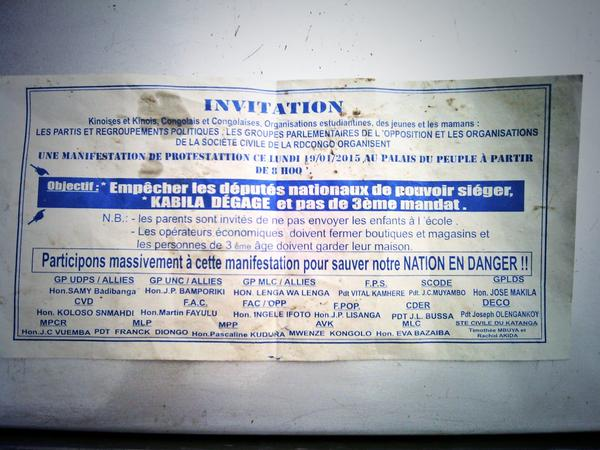 invitation au peuple
