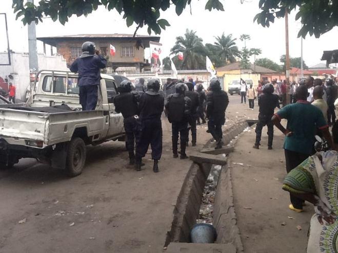 REPRESSION POLICIERES