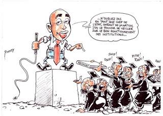 Carricature Magistrats corrompus