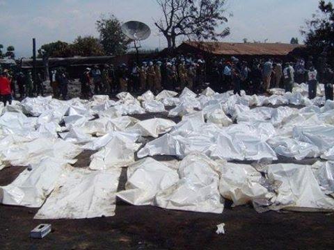 425 cadavres enterres