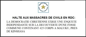 halte aux massacres