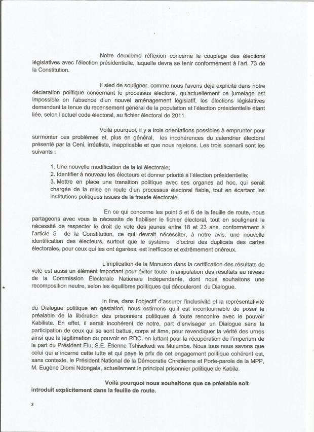 LETTRE A MAVUBGU REACTION D-MPP FEUILLE DE ROUTE .3    001