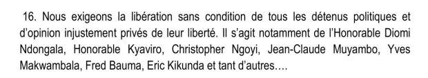 dec dynamique opposition sur prisonniers politiques 05.08.15
