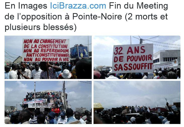 CONGO-BRAZZAVILLE: LE « SASSOUFIT » DE LA POPULATION A L'APPROCHE DU REFERENDUM POUR LE CHANGEMENT DE CONSTITUTION /DOSSIER DC