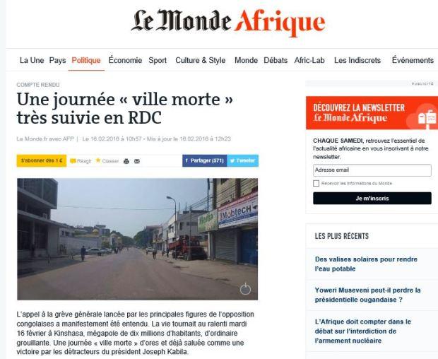 http://www.lemonde.fr/afrique/article/2016/02/16/l-appel-a-la-greve-generale-suivi-en-rdc_4866138_3212.html