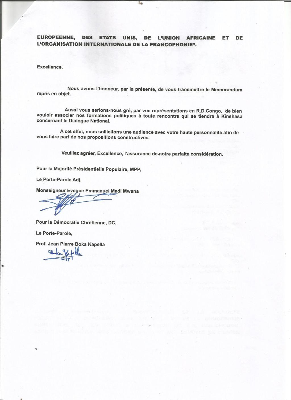 lettre de transmission memo signee 20002