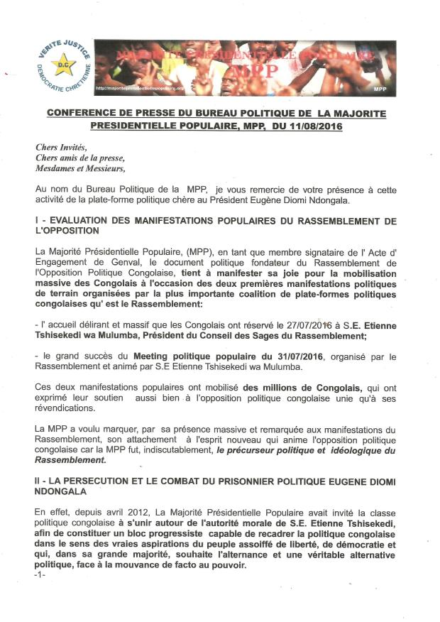 CONFERNECE DE PRESSE 118160001