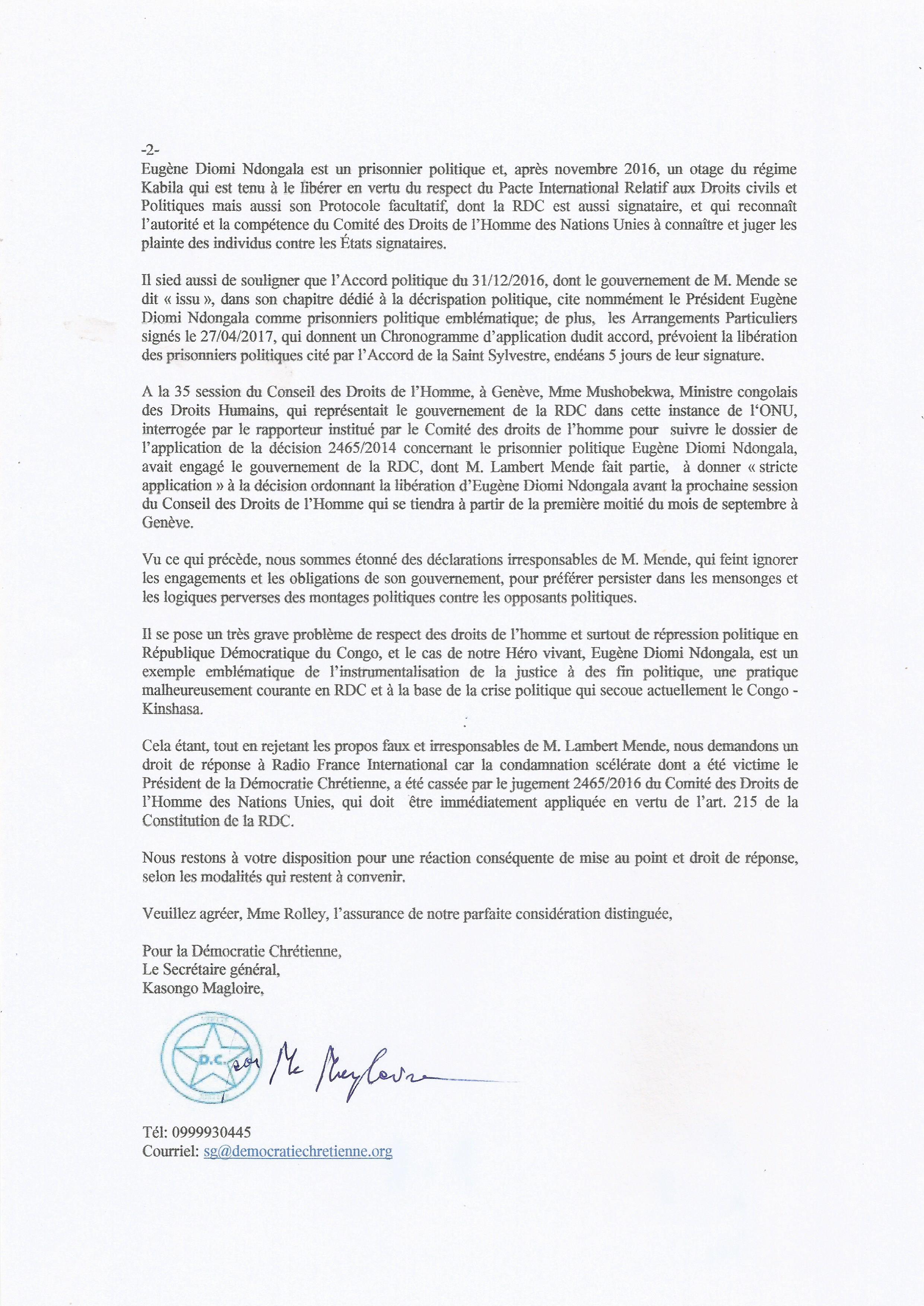 lettre a rfi 300817 2