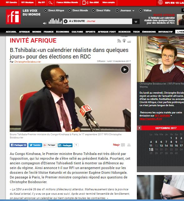 INVIT2 AFRIQUE RFI BOISBOUVIER TSHIBALA