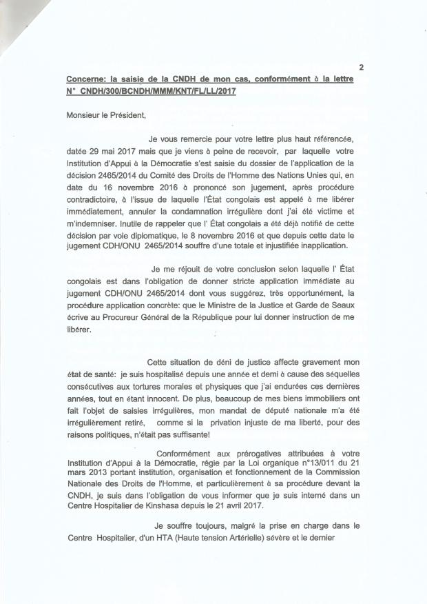 LETTRE DE DIOMI 1.2.3 AU PRES CNDH 210002