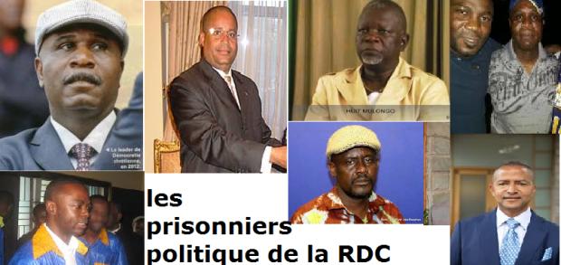 PRISONNIERS POLITIQUES RDC