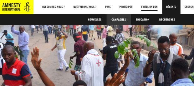 AMNESTY RDC