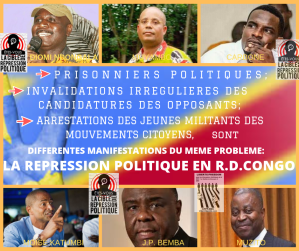 LETTRE OUVERTE D' EUGENE DIOMI NDONGALA AUX CONGOLAIS: « LIBERONS L'AVENIR DU CONGO» Repression-politique-01