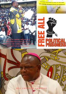 RFI: Mgr FRIDOLIN AMBONGO CONTREDIT MENDE SUR LES CAS DES PRISONNIERS POLITIQUES EMBLEMATIQUES / Podcast Ambongo-diomi-2