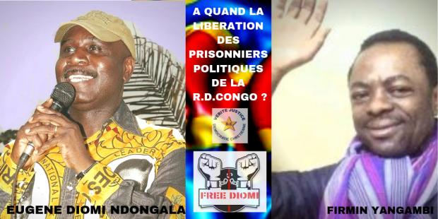 A QUAND LA LIBERATION DES PRISONNIERS POLITIQUES DE LA RDC
